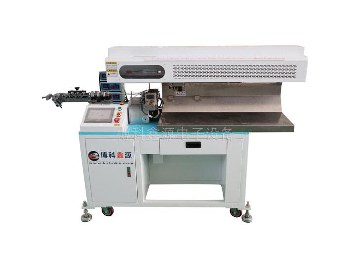 BK-950L高速热剥裁线机 编织线专用裁线机